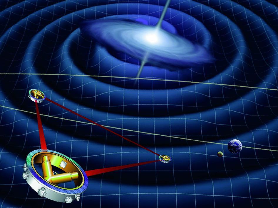 Resultado de imagen de ondas gravitacionales ejemplos